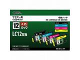 INK-B12-4P ブラザー LC12-4PK(4色パック)対応 互換インクカートリッジ