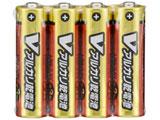 【単3形】 LR6/S4P/V アルカリ単3乾電池 Vシリーズ [4本パック]