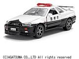 ダイヤペット DK-3101 高速パトカー日産スカイラインGT-R(R34)