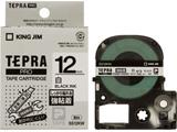 SS-12KW (テプラPROテープカートリッジ  白テープ/黒文字/12mm)