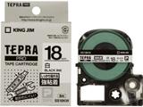 SS-18KW (テプラPROテープカートリッジ  白テープ/黒文字/18mm)