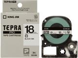 SS-18K (テプラPROテープカートリッジ  白 黒文字 18mm)