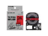 強粘着ラベルテープ 「テプラPRO」(赤テープ/黒文字/24mm幅) SC24RW