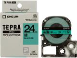 SC-24G (テプラPROテープカートリッジ  緑/黒文字 24mm)