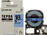 SC-18B (テプラPROテープカートリッジ  青/黒文字 18mm)