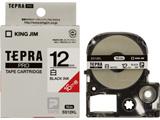 SS-12KL (テプラPROテープカートリッジ  白テープ/黒文字/12mm幅/ロングタイプ)