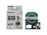 透明マットラベルテープ 「テプラPRO」(透明テープ/黒文字/9mm幅) SB9T
