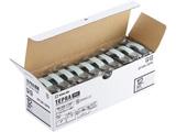 テプラ(TEPRA)PROテープエコパック透明ラベル 10個入 (透明テープ/黒文字/12mm幅) ST12K-10PN