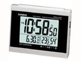 CASIO(カシオ) DQD-710-J8JF (シルバー) 電波目覚まし時計 「ウェーブセプター」 ダブルアラーム