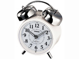 TQ-720J-7JF (ホワイト) 電波目覚まし時計 「ウェーブセプター」