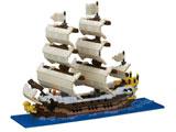ナノブロック NB-030 帆船
