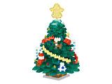 ナノブロック NBH-203 大きなクリスマスツリー(2020)