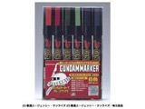 ガンダムマーカーセット GMS108 ジオン軍6色セット