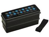 マスターピース シリコン製シールブタ2段ランチBOX900ml SSLW9 黒