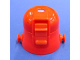 スケーター SDC6用キャップユニット 赤 34183 赤