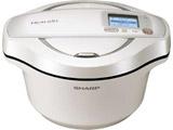 水なし自動調理鍋 「ヘルシオ ホットクック」(2.4L) KN-HW24E-W ホワイト系 KN-HW24E-W ホワイト系