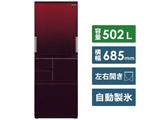 【基本設置料金セット】 冷蔵庫 SJ-AW50F-R レッド系 [5ドア /左右開きタイプ /502L] 【買い替え5000pt】