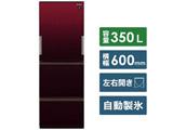 【基本設置料金セット】 SJ-GW35F-R 冷蔵庫 プラズマクラスター冷蔵庫 グラデーションレッド [3ドア /左右開きタイプ /350L]