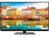 液晶テレビ AQUOS(アクオス)  4T-C55CL1 [55V型 /4K対応 /BS・CS 4Kチューナー内蔵 /YouTube対応] 【買い替え5000pt】