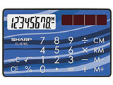 EL-878S-X クレジットカード型電卓 (8桁)