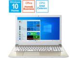 ノートパソコン dynabook X4 サテンゴールド P1X4NPEG [15.6型 /intel Celeron /SSD:256GB /メモリ:8GB /2021年5月モデル]