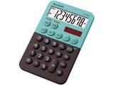 ミニミニナイスサイズ電卓(8桁) EL-760R-GX (グリーン系)