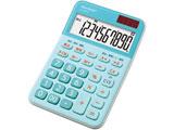 ミニナイスサイズ電卓(10桁) EL-M335-AX (ブルー系)