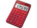 ミニナイスサイズ電卓(10桁) EL-M335-RX (レッド系)