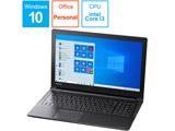 ノートパソコン P1B3LBAB ブラック [15.6型 /intel Core i3 /SSD:128GB /メモリ:4GB /2020年1月モデル]