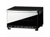【在庫限り】 ミラーガラスオーブントースター (1200W) TS-D057B ブラック