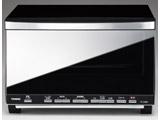 ミラーガラスオーブントースター TSD058B ブラック