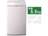 全自動電気洗濯機 (洗濯5.5kg) WM-EC55W ホワイト