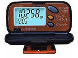 【在庫限り】 歩数計 HJ-108-D パンプキンオレンジ [クリップ式]