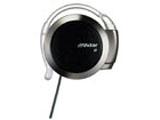 耳かけ型ヘッドホン リワインド Be!(ブラック)HP-AL202-B[コード巻き取り機能付]