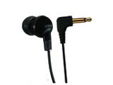ラジオ/ラジカセ用片耳イヤホン カナル型(ブラック)MR-LX21-B<1.0mコード>