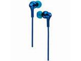 HA-FX26(ブルー)HA-FX26-A カナル型イヤホン