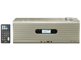 CDラジオ(ラジオ+CD)USB対応 ゴールド RDW1N 【ワイドFM対応】