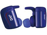 フルワイヤレスイヤホン(左右分離タイプ)カナル型 HA-ET900BT-A ブルー[防水仕様]