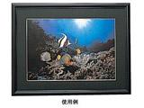 アルミ写真額 (四切/ブラック) E-8007
