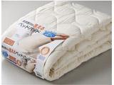 【ベッドパッド】東京西川の洗えるベッドパッド ウール(シングルサイズ) CNI0601751BE