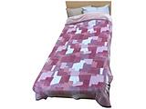 発熱わた入れ毛布 MD9057F(シングルサイズ/140×200cm/ピンク) FQ09055010P ピンク