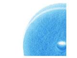 マーナ POCOキッチンスポンジ(吸盤なし・リフィル) K095B ブルー