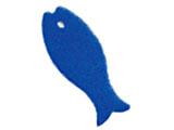 ポアソンキッチン おさかなスポンジ ブルー K170B