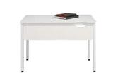 テーブルC2(幕板付き/白) C2-106HM 415-636