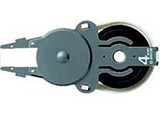 個人情報保護テープ 1行ケシポン専用交換テープ(幅4mm)IS-040CM