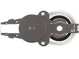 【在庫限り】 個人情報保護テープ 1行ケシポン専用交換テープ(幅5mm)IS-050CM