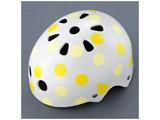 子供用ヘルメット bikkeジュニアヘルメット(ドットイエロー/51〜57cm) CHBH5157