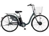 24型 電動アシスト自転車 フロンティアデラックス(F.Xカラメルブラウン/内装3段変速) F4DB49【2019年モデル】