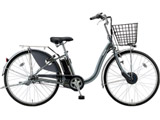 24型 電動アシスト自転車 フロンティア(M.XHスパークルシルバー/内装3段変速) F4AB29【2019年モデル】