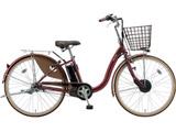 24型 電動アシスト自転車 フロンティア(F.Xベルベットローズ/内装3段変速) F4AB29【2019年モデル】